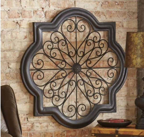 Italian Tuscan Rustic Style Scrolling Metal Wall Art Decor At Eproducts