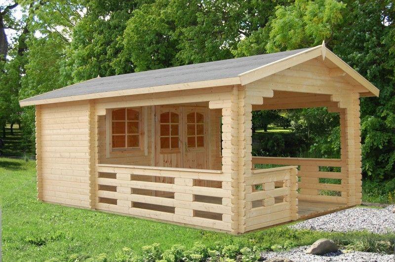Gartenhaus 44 Sylvi 6,1+10,6 m² 3,5x2,2 m Gerätehaus