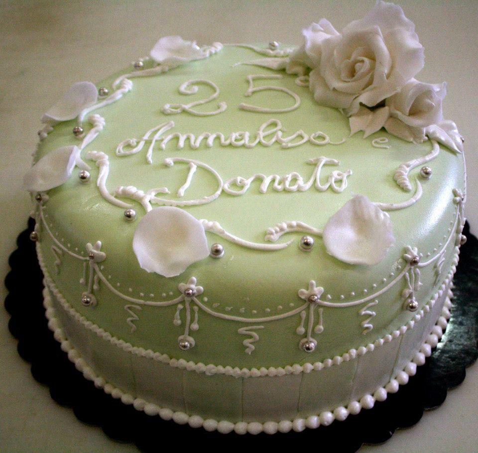 #flower #anniversario torta della pasticceria La Mimosa di http://www.simocakedesigner.it