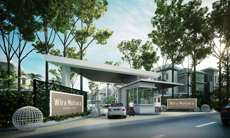 Entrance statement 800 480 guardhouse for Home gateway architecture