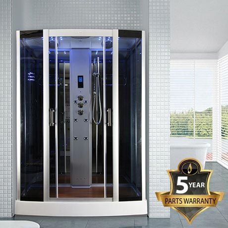 Insignia Steam Shower Cabin With Mirrored Backwalls Available
