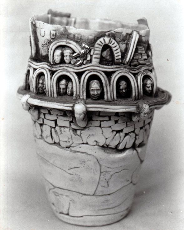44 Peter Wolstenholme Porcelain Vessel Pottery Marks