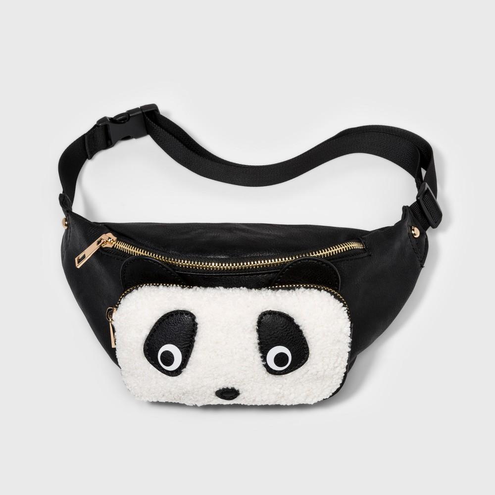 fb582ce4e98 Omg! Accessories Panda Fanny Pack - Black Hip Bag, Fanny Pack, Clutch Bag