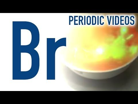 YouTube Bromine Elements of the Periodic Table Pinterest - new periodic table phosphorus atomic mass