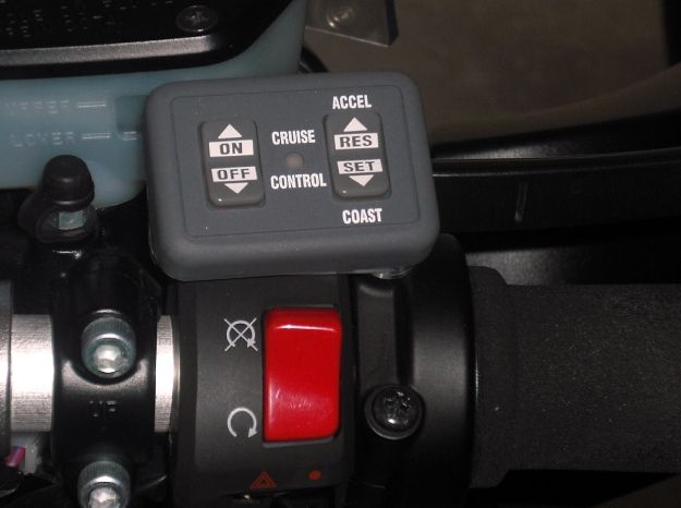 Audiovox Cruise Control Installation on the Concours 14