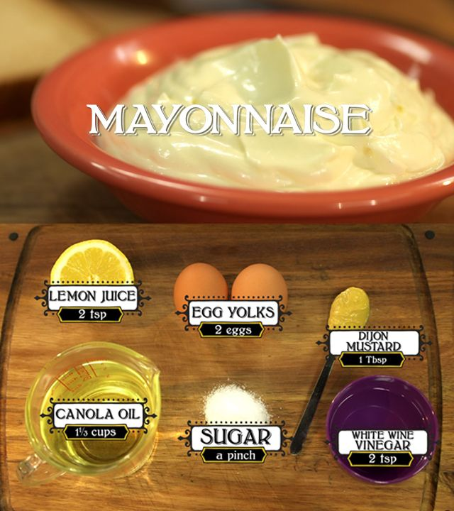 Step-by-step on how to make mayonnaise. #cooking101