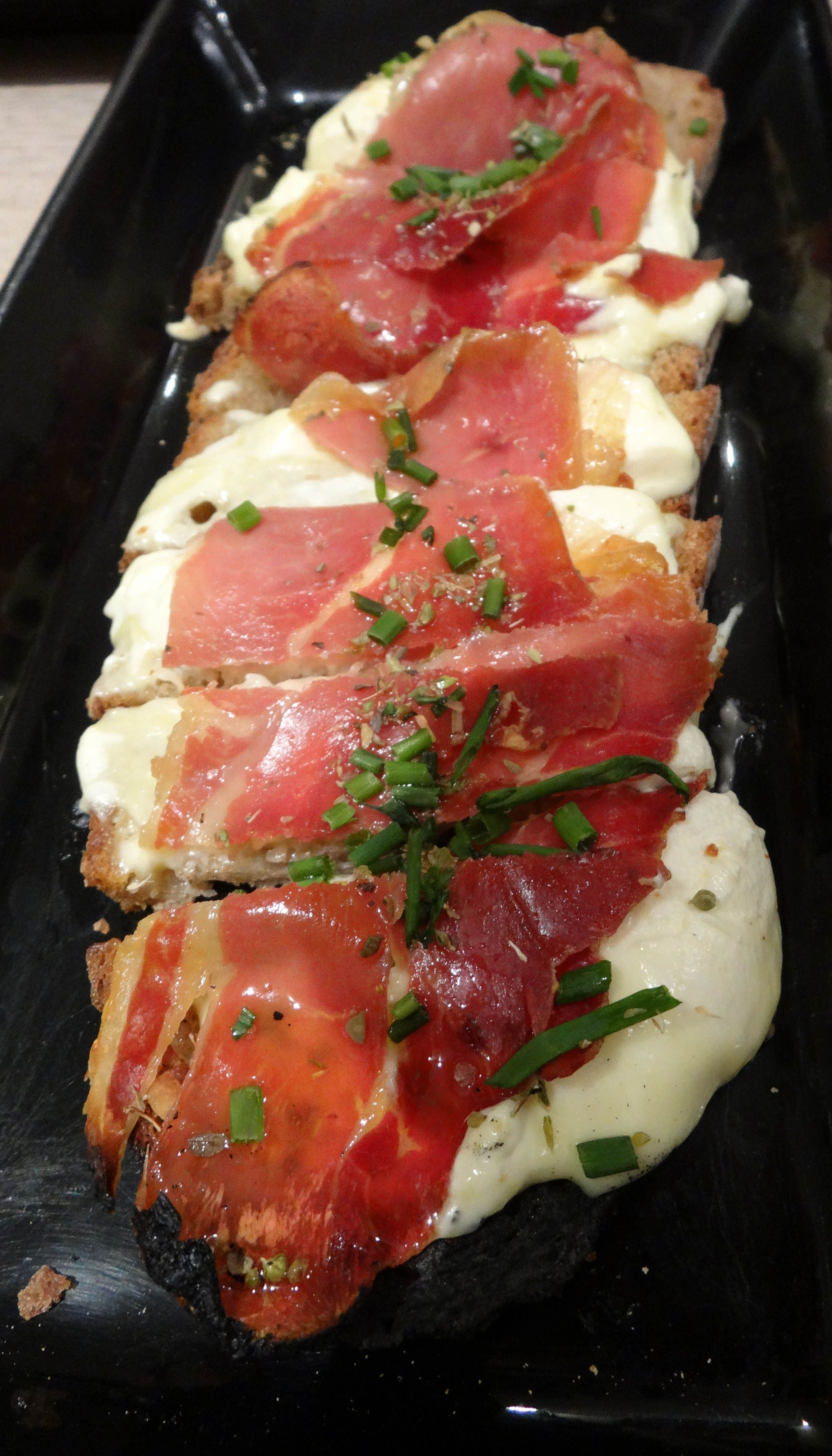 A tartine was not something we knew of prior to visiting Paris, but after trying this open-faced sandwich we were hooked.