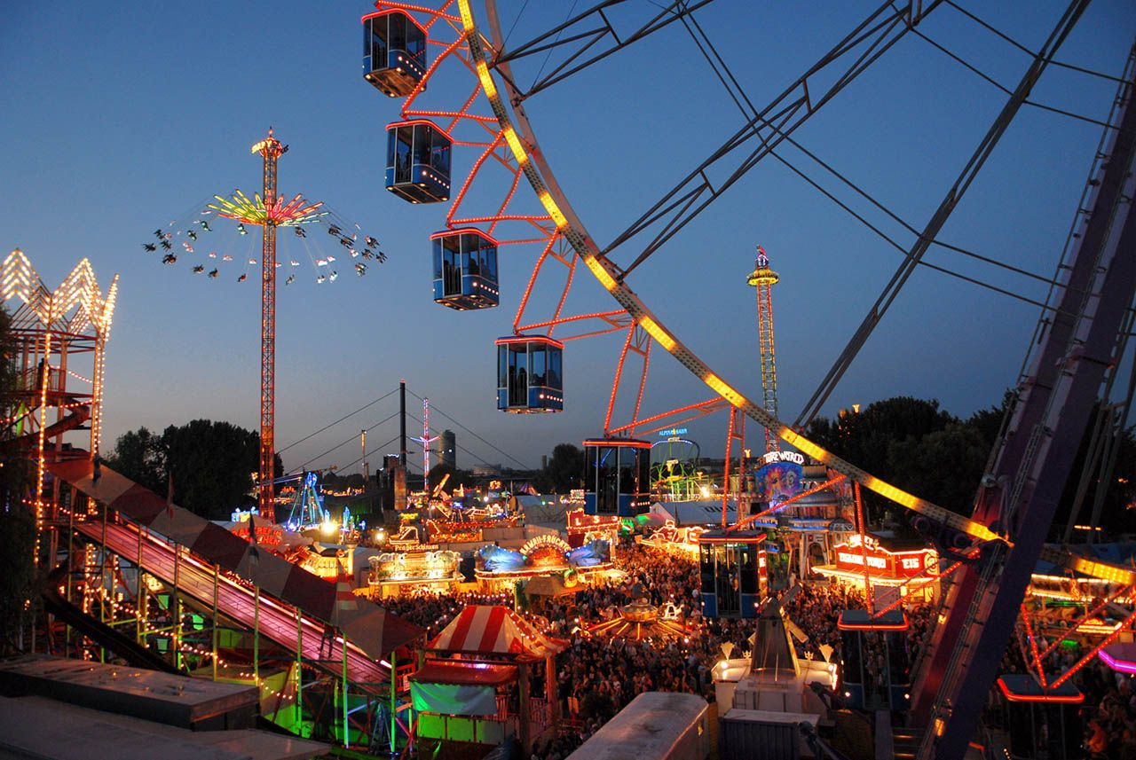 Biggest Funfair on the...