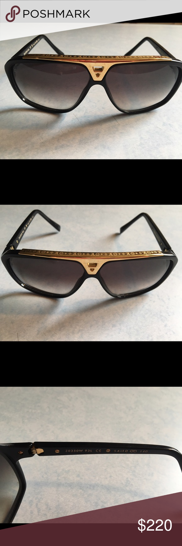 37acaf1744a Louis Vuitton sunglasses LV sunglasses. Like new. Louis Vuitton Accessories  Glasses
