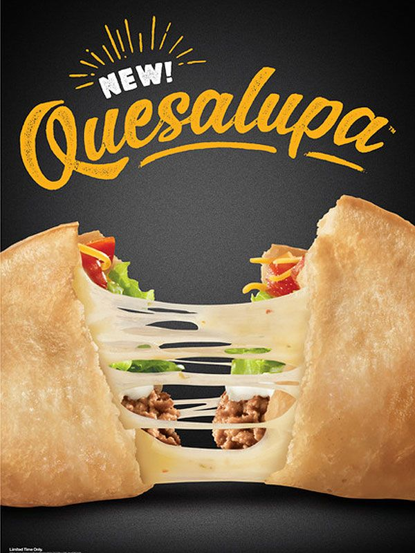Taco Bell S New Quesalupa Has Arrived And The Internet Is Very