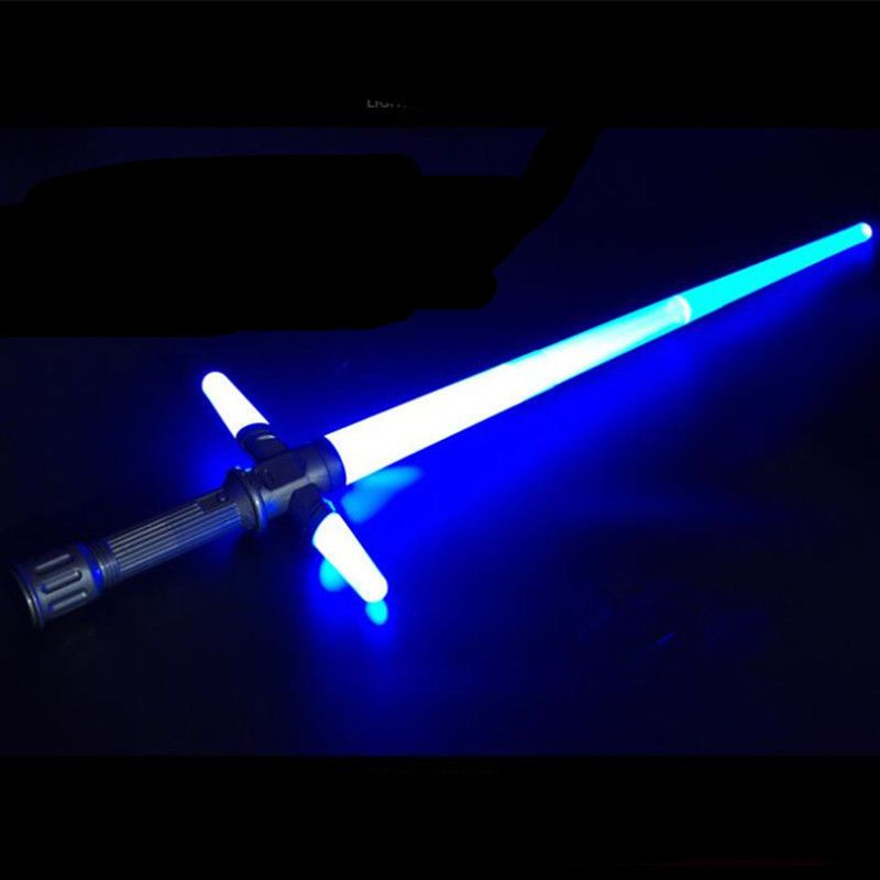 Shining Sword Toys Jedi Knights Lights Laser Lightsaber LED Cosplay Props