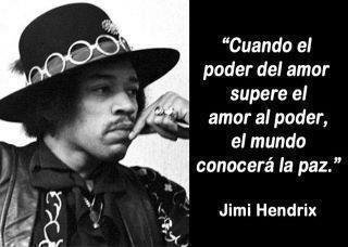 El poder del amor...  Hendrix