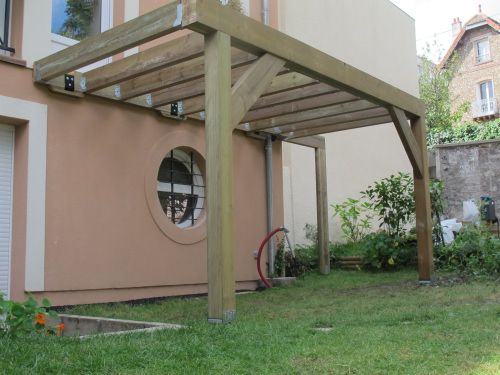 monter une terrasse bois schody pinterest decoraci n de unas p rgolas y bazares. Black Bedroom Furniture Sets. Home Design Ideas