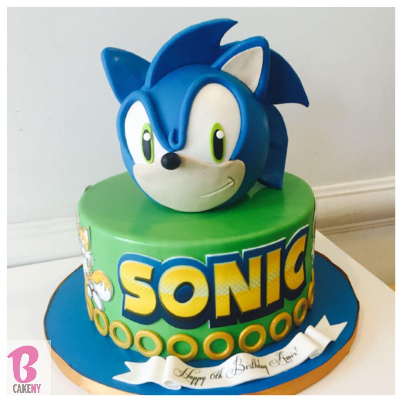 Sonic cake soniccake sonic bcakeny cakes pinterest