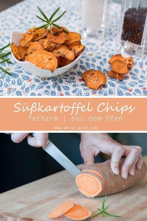 Chips & Süßkartoffel Pommes selber machen: So klappt's - WE GO WILD