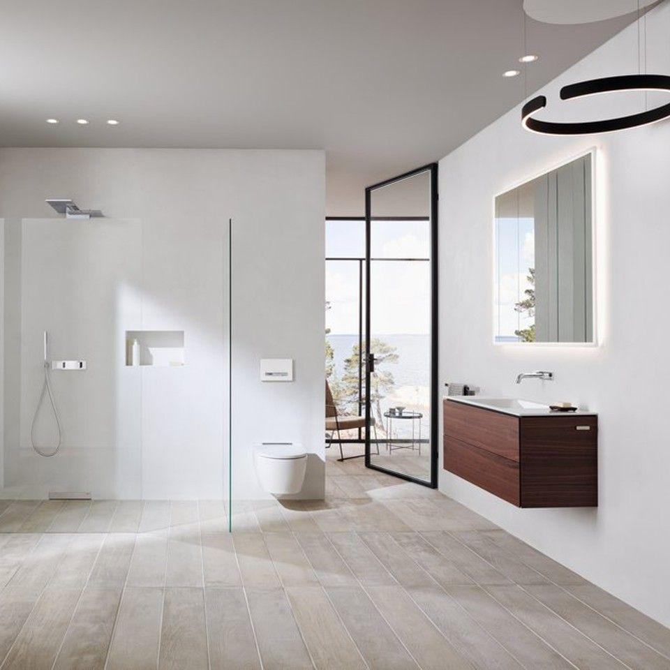 Bad Mit Mehr Platz Sauberkeit Und Flexibilitat Dank Geberit One Produkten Badezimmer Innenausstattung Badezimmer Dekor Bad Styling