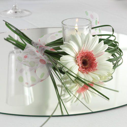 Gerbera Daisy Wedding Centerpieces Single Gerbera Wedding