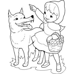 Little Red Riding Hood Coloring Pages - drive.cheapusedmotorhome.info