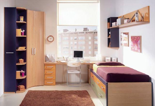 Habitaciones juveniles peque as3 closets para cuarto - Habitaciones juveniles nina ...