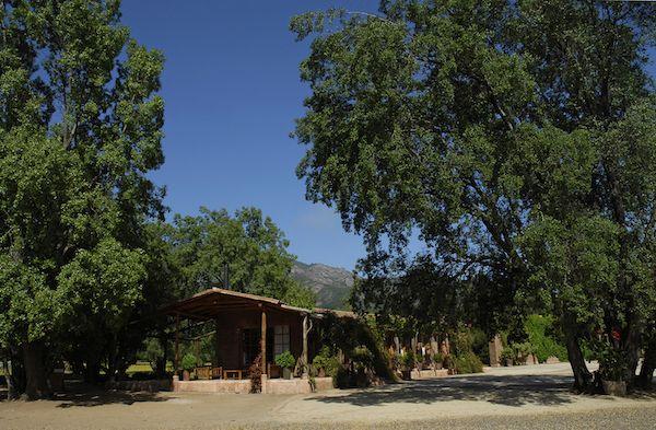 Das gemütliche Landhaus der Vina Tres Palacios liegt inmitten der Weinberge. Hier finden Verkostungen statt, können sich Gäste für den Hausbedarf eindecken. www.cwc.de