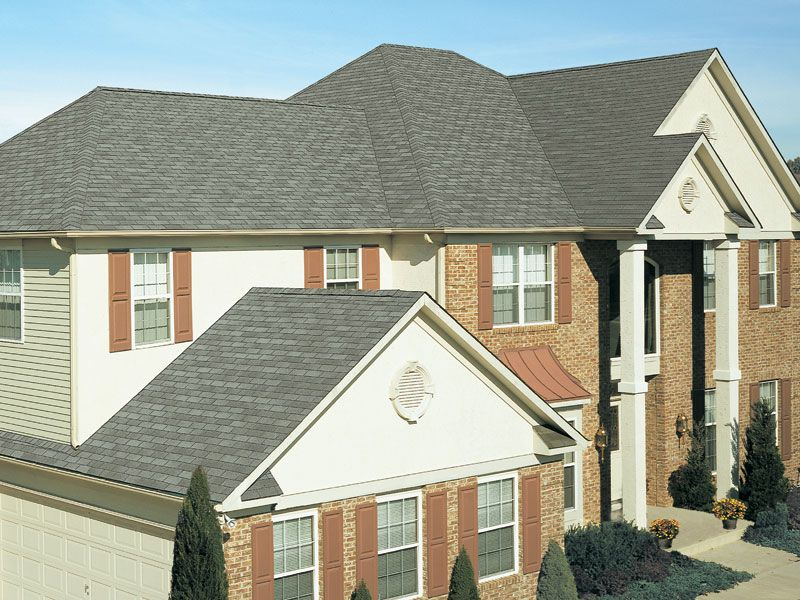 Slate Gaf 3tab Roof Shingles Home Residential Roofing Roofing Roofing Contractors