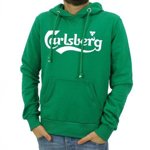Felpa Carlsberg Uomo #sportswear #felpe #pantaloni