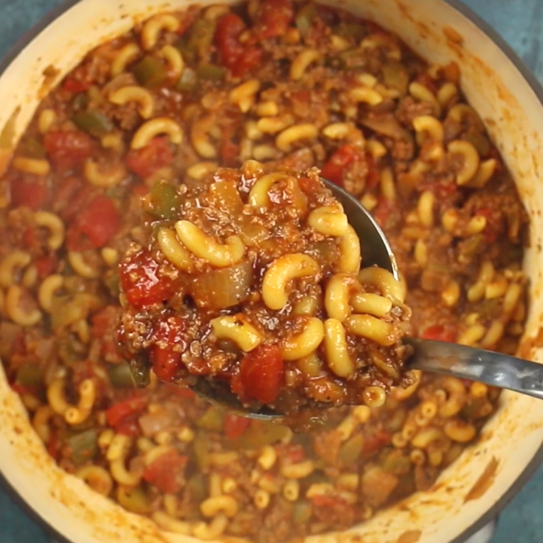 One Pot American Goulash