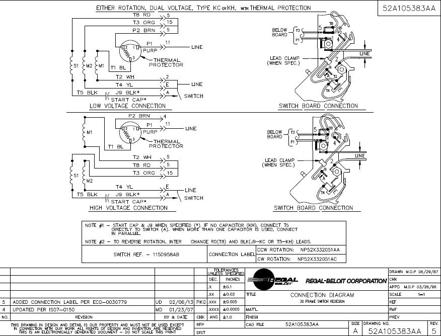 Marathon Electric Motor Wiring  impremedia