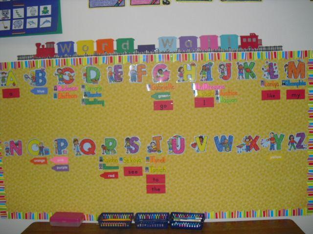 Funky Art Word Wall Model - All About Wallart - adelgazare.info