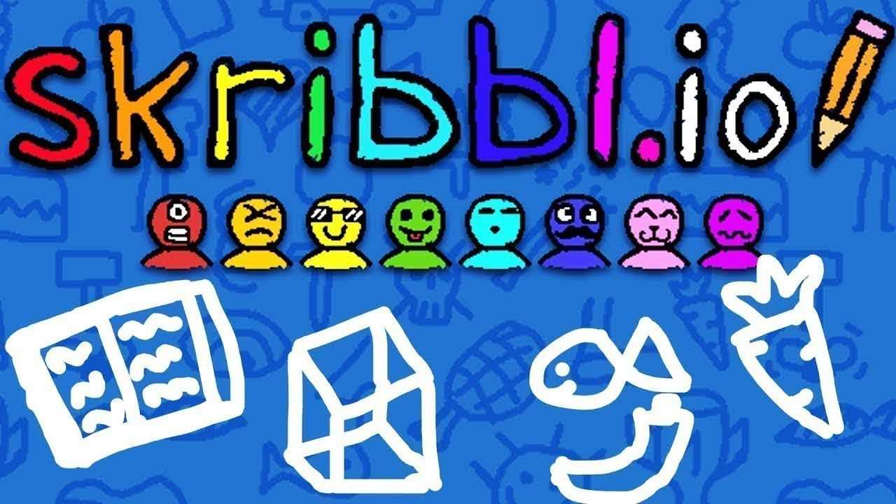 THE NEW DRAW MY THING SKRIBBL.IO Funny moments, Games