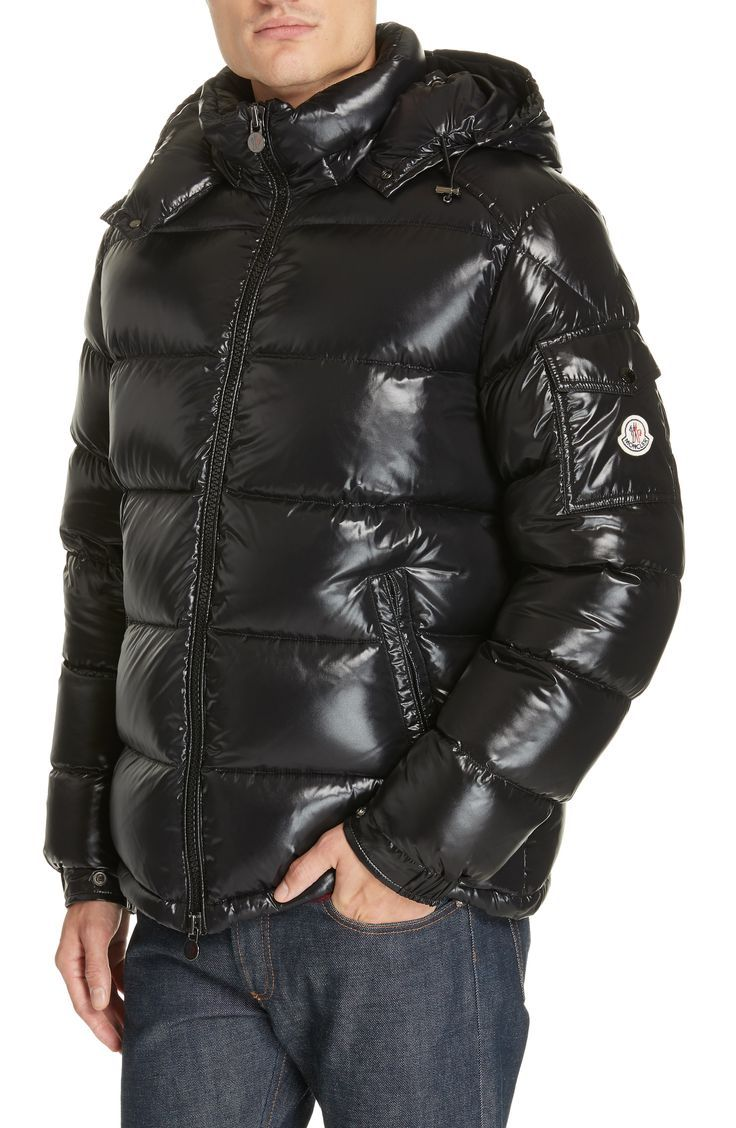 Moncler Maya Laque Quilted Down Jacket Moncler, Down