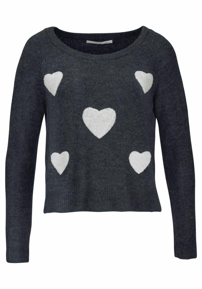 Süßer Strickpullover mit Herzen | cozy, cashmere moments