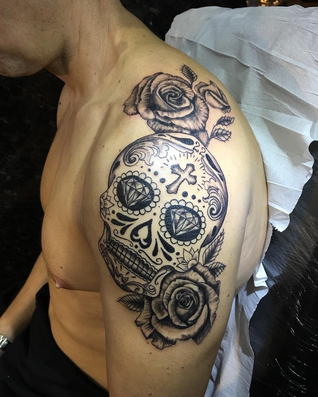 10++ Best Sugar skull tattoo designs image ideas