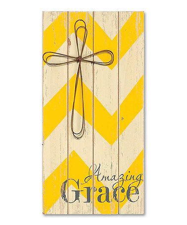 Look what I found on #zulily! \'Amazing Grace\' Wood Sign #zulilyfinds ...