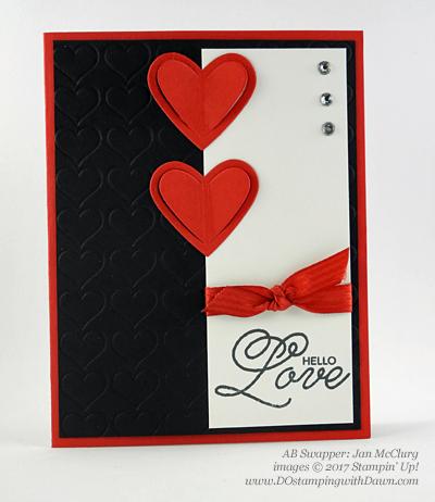13 Stampin' Up! Valentine Swap Samples