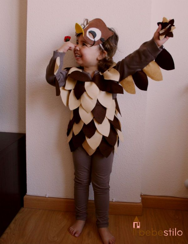 I love this halloween costume idea too bad my nieces - Disfraces de buhos ...