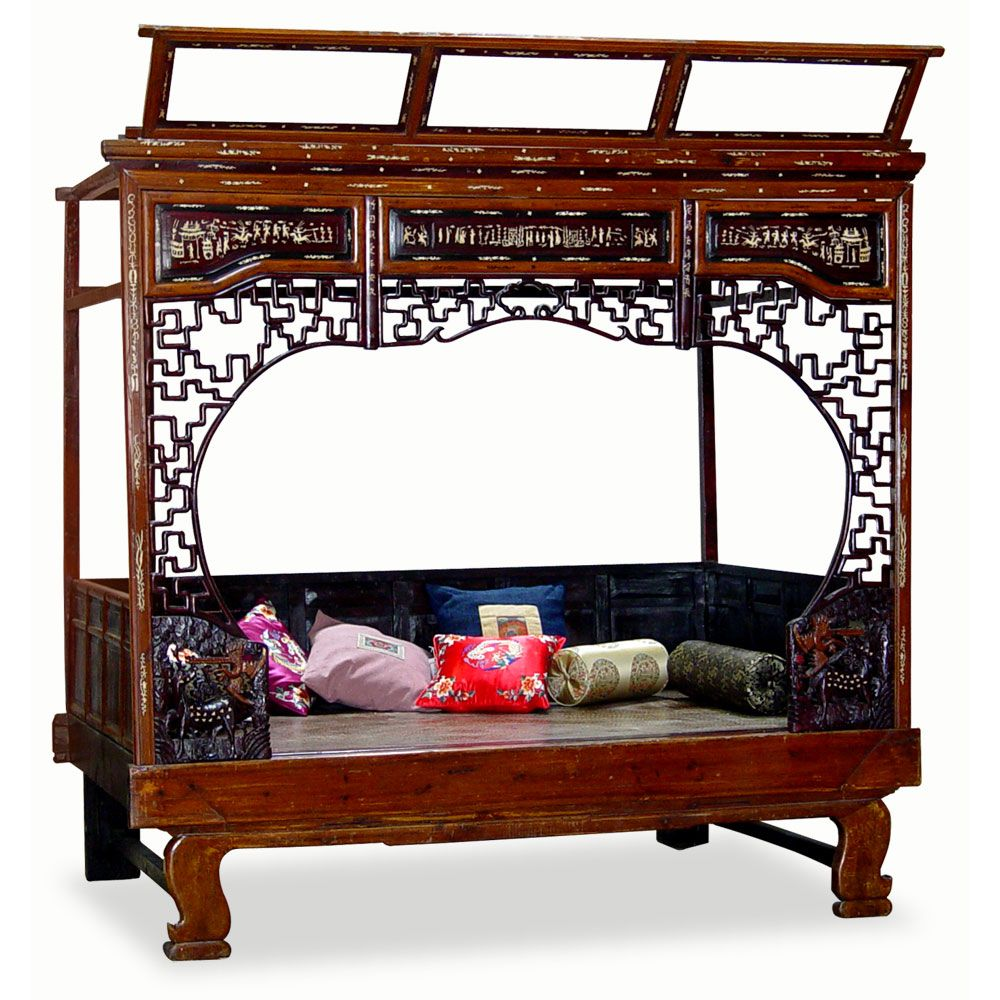 Asian furniture the platform bed oriental furniture staple