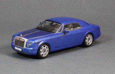 Rolls Royce Phantom Coupe English White 1:43 Scale Diecast Kyosho 05531EW