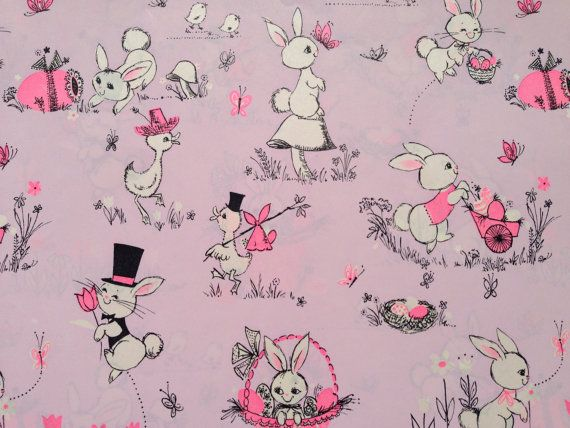 Vintage gift wrapping paper happy easter by thegooseandthehound vintage gift wrapping paper happy easter by thegooseandthehound 600 negle Image collections