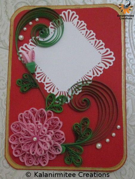 Quilled card quilling cards paper ideas animals origami also filigrana decoracion de unas rh ar pinterest