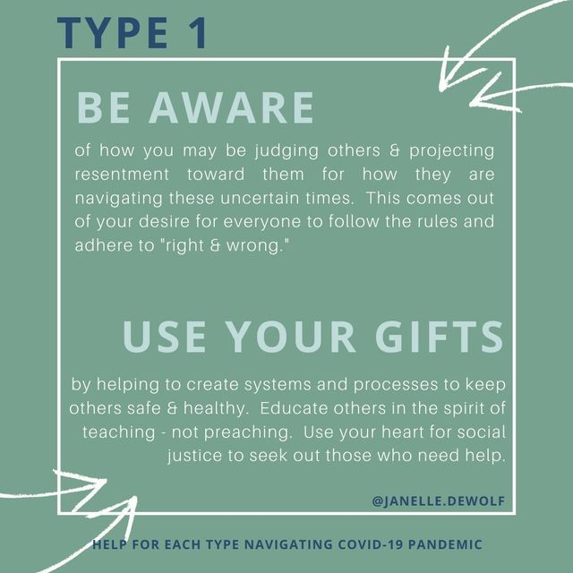 HOW TO NAVIGATE COVID-19 PANDEMIC BY ENNEAGRAM TYPE