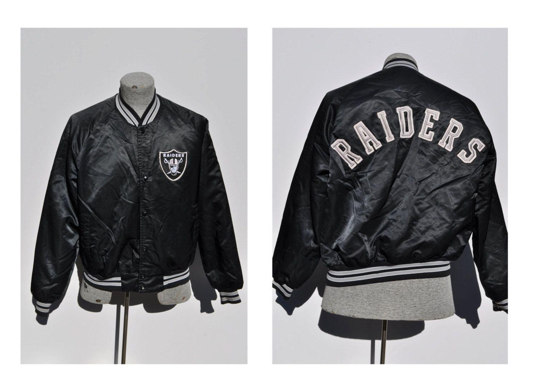 80s raiders jacket