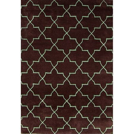I pinned this Marrakesh Rug in Mocha from the Global Inspiration event at Joss and Main!