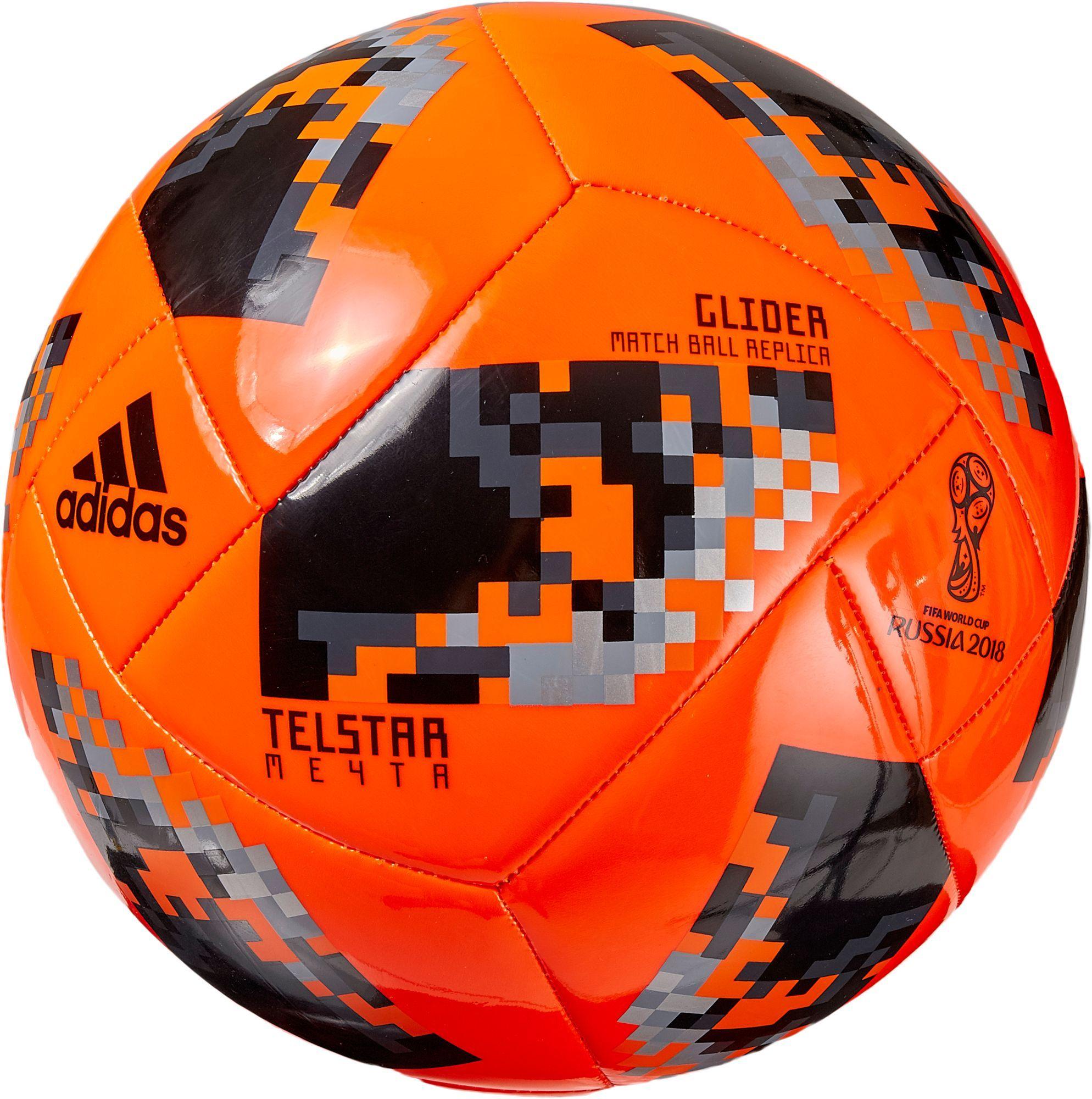 adidas 2018 Fifa World Cup Telstar Mechta Knockout Stage Glider Soccer  Ball e7063ae5ebcb5