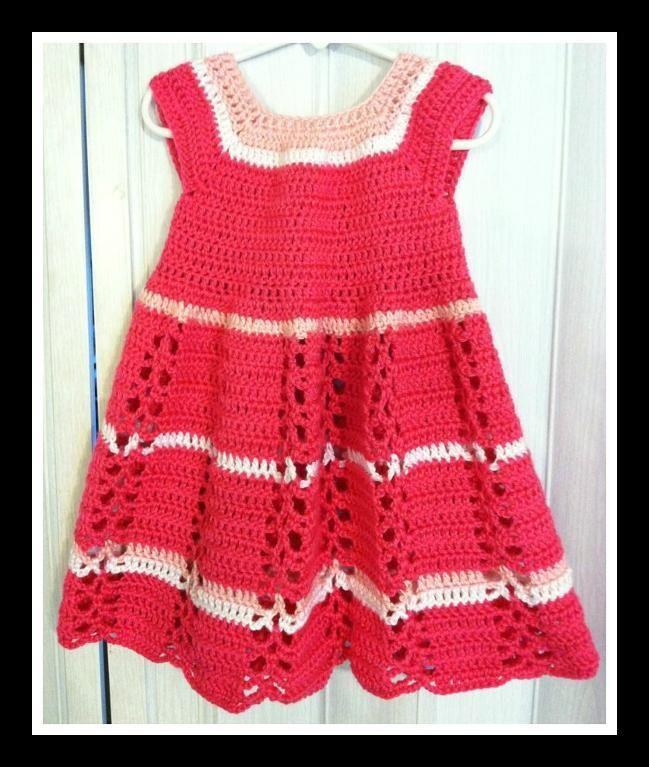 Toddler Ribbon & Lace Dress pattern on Craftsy.com | Muñecas ...