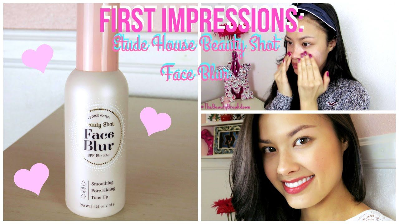 First Impressions ♥ Etude House Beauty Shot Face Blur