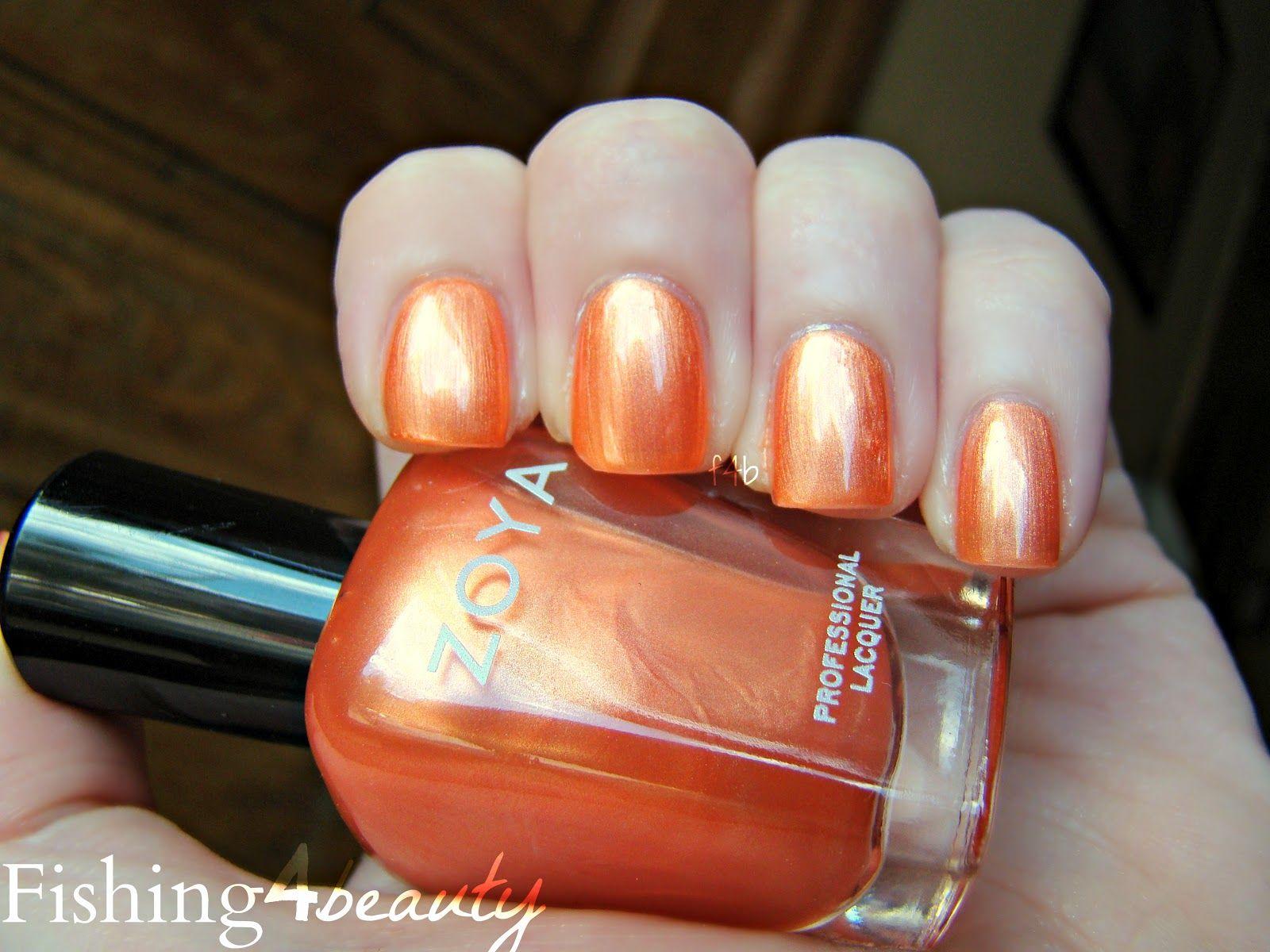 Fishing4Beauty: The Prettiest, Most Wearable Orange... @Zoya Zinger ...