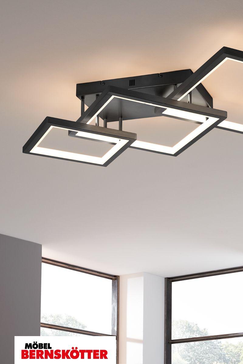 Deckenleuchte Interliving Leuchten Serie 9320 Deckenleuchte Schwarz Leuchten Lampen Und Leuchten