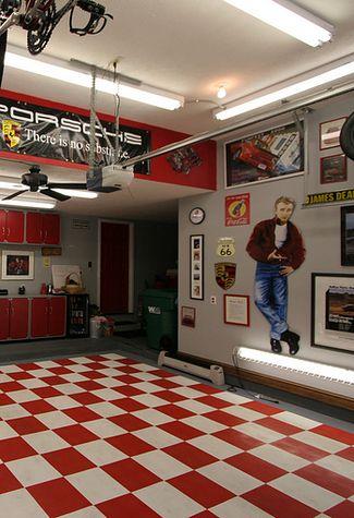 A Retro Garage Dream Come True Garage Decor Garage Interior