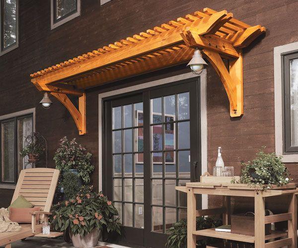 Pergola Wall Design: Http://www.housemaintenanceguide.com